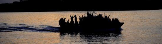Sbarco di immigrati, arrivo all'alba